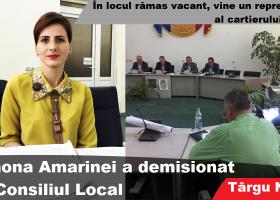 Ramona Amarinei, ultima şedinţă în calitate de consilier local