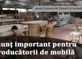 În atenția producătorilor de mobilă: