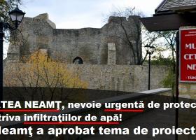 Cetatea Neamţ, primul pas pentru salvarea ei