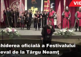 Deschiderea oficială a MedievArtFest Târgu Neamţ