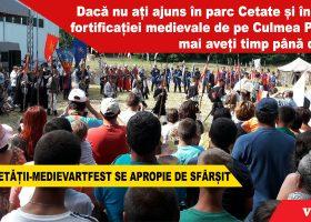 Zilele Cetății-MedievArtFest se apropie de sfârșit