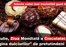 Regina dulciurilor, ciocolata. Pe 11 iulie, e ziua ei