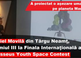 Daniel Movilă din Târgu Neamț, pe podium la Finala Internațională a Concursului Odysseus