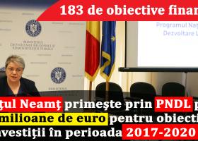 Vezi cele 183 de obiective de investiții în Neamț care au primit finanțare prin PNDL II
