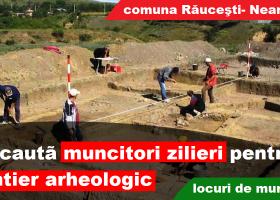 Se caută muncitori zilieri pentru șantier arheologic