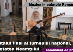 Menestrelul modern Nicolae Szekely, acorduri muzicale în Cetatea Neamțului
