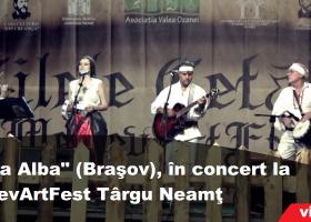 """""""Terra Alba"""", concert live la Zilele Cetății – MedievArtFest Târgu Neamț"""