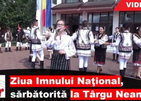 Ziua Imnului Naţional, sărbătorită şi la Târgu Neamţ