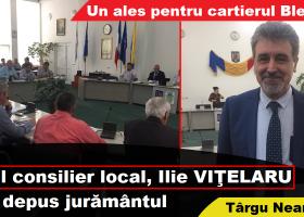 Ilie Viţelaru a intrat în Consiliul Local al oraşului Târgu Neamţ. Luptă pentru Blebea