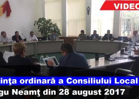 Consiliul Local Târgu Neamţ, şedinţă cu scântei