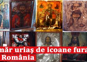 Catalogul Icoanelor furate din România – incredibil cât de multe icoane au fost furate