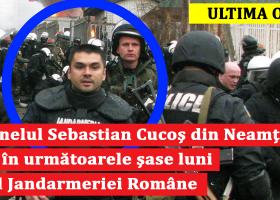 Noul șef al Jandarmeriei Române este din Neamț