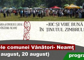 Zilele comunei Vânători- Neamț
