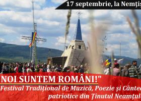 """În curând, Festivalul """"Noi suntem Români!"""""""