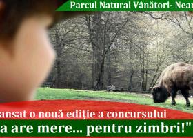 """""""Ana are mere… pentru zimbri"""", o nouă ediție a acestui concurs inedit"""
