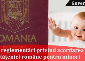 Reglementări noi privind acordarea cetățeniei române pentru minori