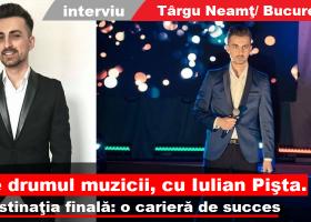 Interviu cu Iulian Pişta, un artist în devenire