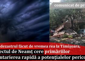 Prefectul Panaite, adresă către UAT-uri pentru a inventaria construcțiile ce reprezintă un risc major pentru viața cetățenilor